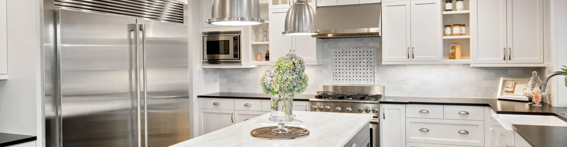 beautiful kitchen setup